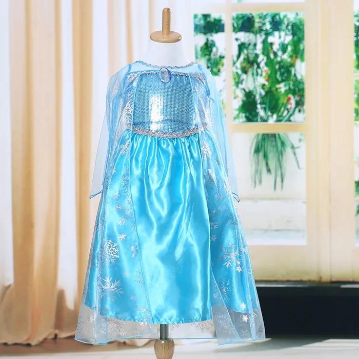 Rochie lunga printesa Elsa