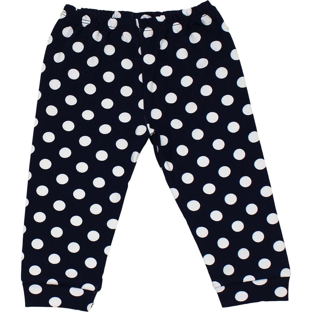 "Set 3 piese ""Daisy"", body maneca lunga, caciula si pantaloni cu buline"
