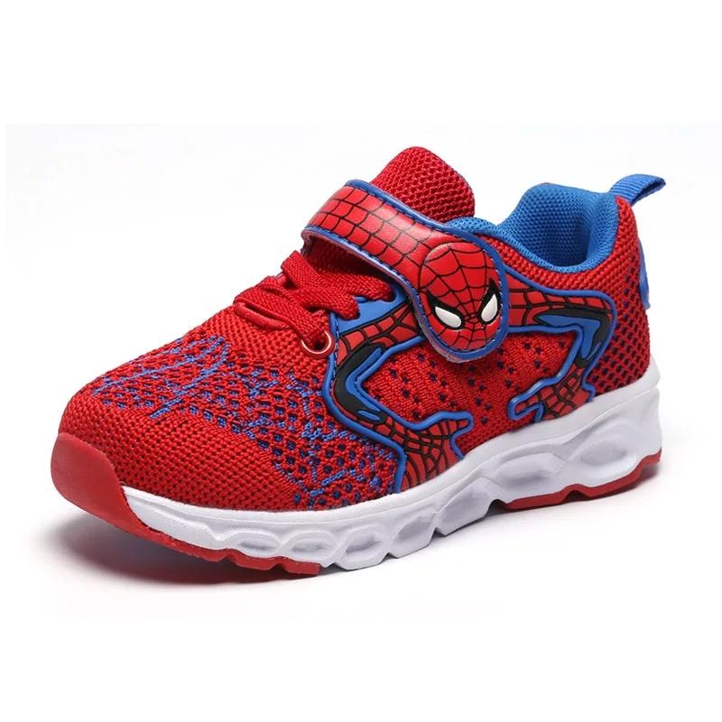 Adidas rosu  Spiderman cu talpa alba