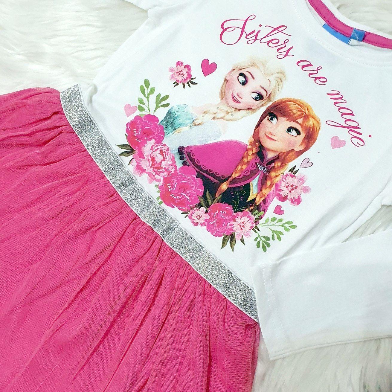 "Rochie bumbac ""Elsa"", cu maneca lunga"