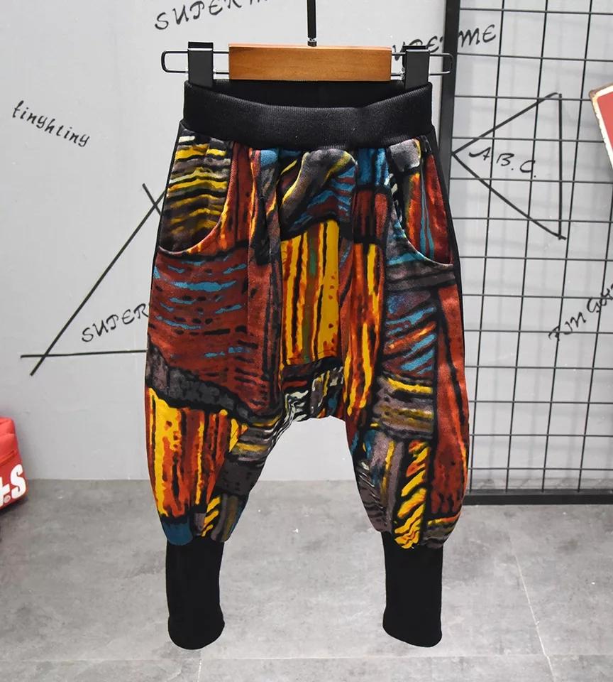 Set multicolor 2 piese, hanorac cu gluga si pantaloni