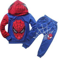 Trening Spiderman 2 piese, hanorac si pantalon