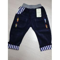 Pantalon raiat cu model dungulite