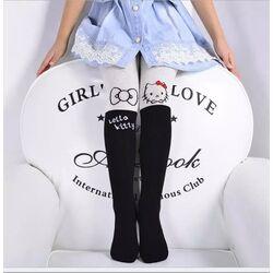 Ciorapi grosi Hello Kitty