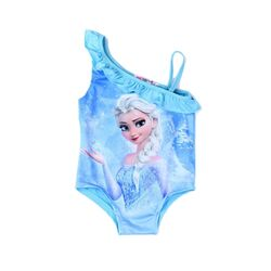 "Costum de baie ""Elsa"", bleu , o singura piesa"