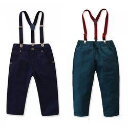 Pantaloni cu bretele, diverse modele