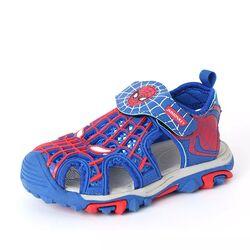 "Sandale albastre  ""Spiderman"""